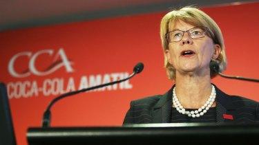 Coca-Cola Amatil managing director Alison Watkins.