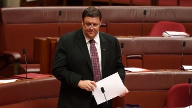 "Glenn Lazarus has described Tony Abbott's ""feral"" comment as ""appalling"" and ""disrespectful""."