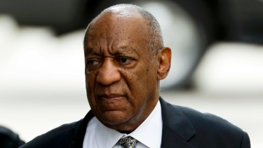 No verdict: Bill Cosby faced charges of sexual assault.