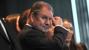 """There are pluses and minuses to being lord mayor for eight years"": Robert Doyle."