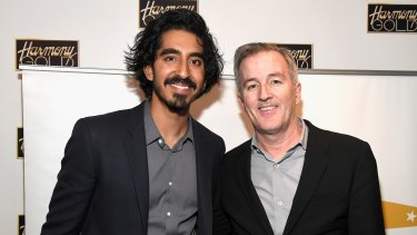 Both nominated for <i>Lion</i>: Dev Patel who is nominated for best supporting actor with screenwriter Luke Davies who is nominated for best adapted screenplay.