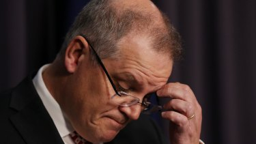 Treasurer Scott Morrison, unlike Joe Hockey, has all of the arms of government at his disposal.