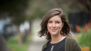 Clare Burns, ALP candidate in the Northcote byelection
