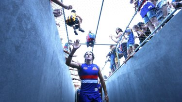 Leading the new wave: Bulldogs fans love Marcus Bontempelli.