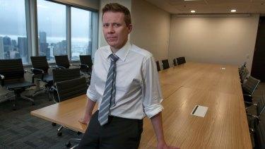 Chief executive of Industry Super Australia, David Whiteley.