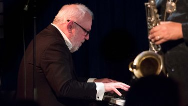 Paul Grabowsky led a powerhouse trio at the Melbourne International Jazz Festival.