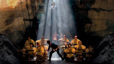 The recent <i>Les Miserables</i> production was staged with animations of Victor Hugo's own paintings to powerful effect.