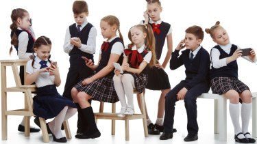 Allowing smart phones has largely emerged through inaction on the part of schools.