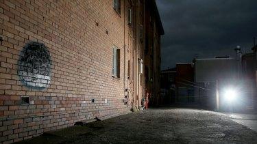 Laneway off Westbury Street, Balaclava where Adrian Bayley raped a Dutch backpacker.