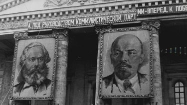 By the time Hobsbawm had turned 17 he had read an impressive amount of the classics by Karl Marx (left) as well as some of Lenin's works.