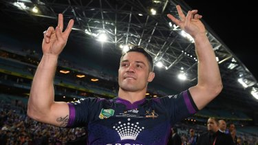 New Rooster: Cooper Cronk.