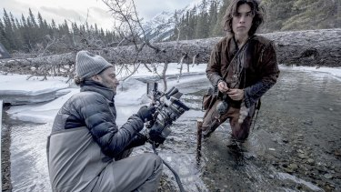 Shooting <i>The Revenant</i> in freezing conditions in Canada.