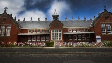 The old St Alipius primary school in Ballarat.