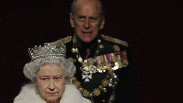 The Queen and Prince Phillip – he is not always in the background.