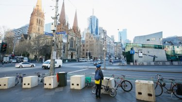 Anti-terror barriers have recently been installed in nine locations around the city.