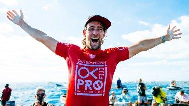 Stepping up: Fiji Pro winner Matt Wilkinson.