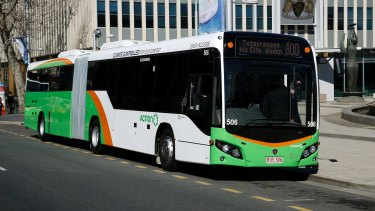A public bus service to Canberra Airport will begin on March 20.
