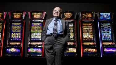 Well played: Len Ainsworth, 93,will receive $200 million more for his stake in  Ainsworth Game Technology than had he sold the stock at the market low on Wednesday.