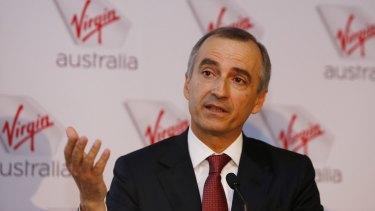 Virgin boss John Borghetti says demand remains subdued.