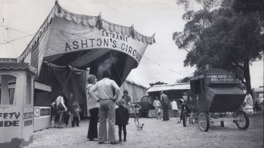 By the age of 14 Frank Titan had run away from home and was looking after 12 camels at Ashton's Circus in Burnley Park.