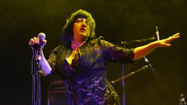 Lydia Lunch in full flight at Supersense.
