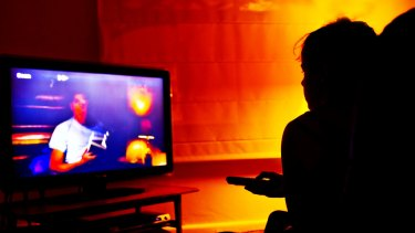 Online catch-up services only boost total average television viewing by 1 per cent to 2 per cent.