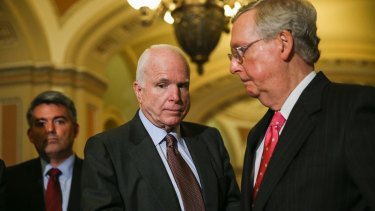 John McCain has already vowed to block Clinton's Supreme Court nominees.