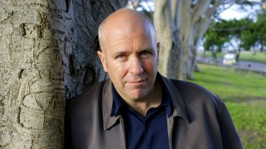 Author Richard Flanagan, who has opposed parallel imports of books.
