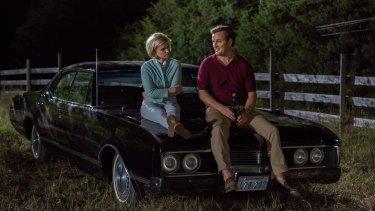 Jason Clarke stars as Teddy Kennedy and Kate Mara as Mary Jo Kopechne in John Curran's movie Chappaquiddick.