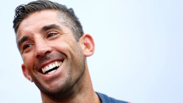 Braith Anasta of the Roosters in Auckland on Friday.
