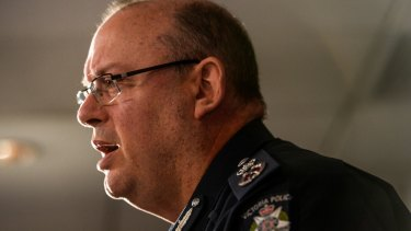 Victoria Police Chief Commissioner Graham Ashton says the mental health of officers is one of the most important issues he faces.