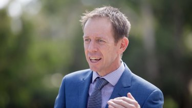 ACT minister for climate change and sustainability Shane Rattenbury.