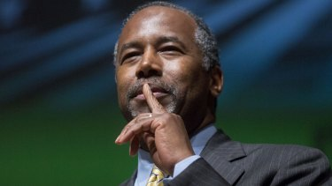 Republican presidential candidate Ben Carson has drawn a parallel between opposition to abortion and slavery.