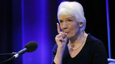 'Usually, Savile either met the victim at the BBC or else he groomed the victim by offering the opportunity to attend the BBC' ... Dame Janet Smith releases her report at BBC's Broadcasting House in central London.