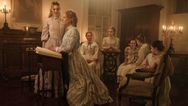 Sofia Coppola's The Beguiled stars (from left) Elle Fanning, Nicole Kidman, Kirsten Dunst, Angourie Rice, Oona Laurence, Emma Howard and Addison Riecke.