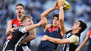 Christian Petracca has made a big impact in the AFL.