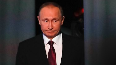 Vladimir Putin's people have denied they were spying on Trump.