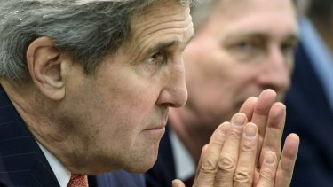 US Secretary of State John Kerry: More than half of the 57 trips he has made in the job have been to the Middle East.