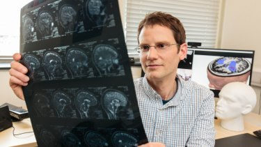 Dr Ben Glocker, a lecturer in medical image computing at London's Imperial College, is using machine learning to refine how we measure the size of brain tumours.