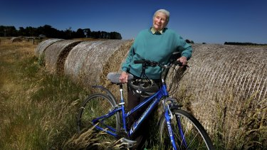 Octogenarian Shirley Boyle will be the oldest rider in the  Great Victorian Bike Ride this weekend.