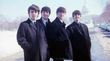 The Beatles – George Harrison, Paul McCartney, John Lennon and Ringo Starr – continue to draw reverence (and cash).