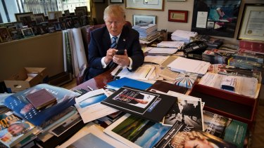 Donald Trump will be moving from his office at Trump Tower in New York to the Oval Office in Washington.