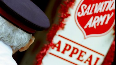The Salvation Army sets out to help the unfortunate.