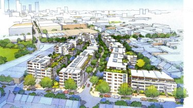 The 7,125 square metre site at Glebe for 247 private homes has been sold for more than $67 million - to help fund the Cowper Street Glebe Redevelopment and build more social housing for NSW