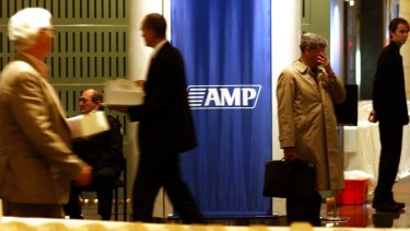 'At its core, AMP is an advice business,' Mr Meller said.