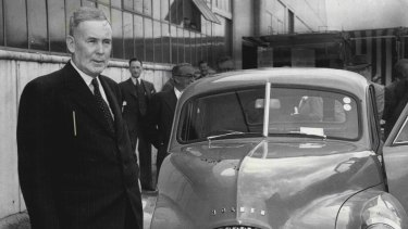 Car manufacturing in Australia was dominated from the start by large international companies, such as General Motors, establishing local assembly behind tariff barriers.