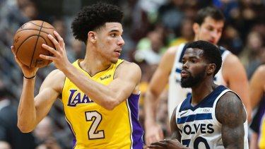 Something else: Australian NBA centre Andrew Bogut says Lonzo Ball is not what you would expect in person.