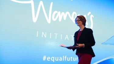 Julia Gillard believes that pay inequality is the starting point for many of the financial difficulties faced by women.