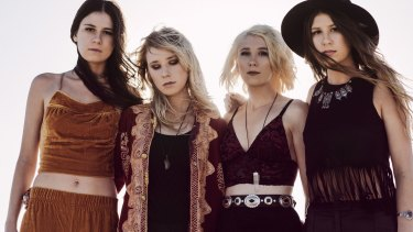 Stonefield bring their glam-rock sound to ANU Bar on October 16.