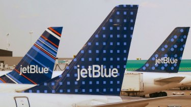 US carrier JetBlue says the rules for airline alliances are hurting consumers.